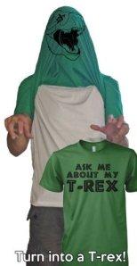 Convertible T-Rex Shirt