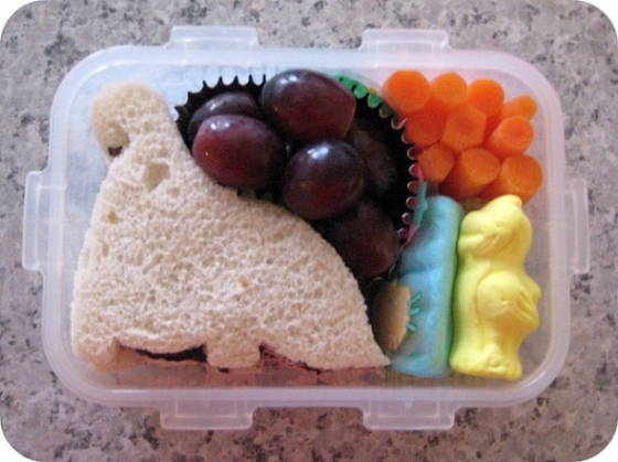 dinosaur sandwich